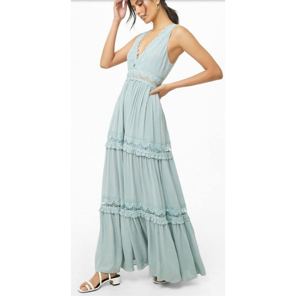 07a998f9295 Maxi Embroidered Dress